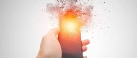 Gel-Feuerlöscher für Lithium-Ionen Akkus