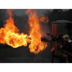 Feuerlöschtraining Modul 5