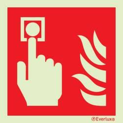 Brandschutzzeichen Handalarmtaster ISO 7010