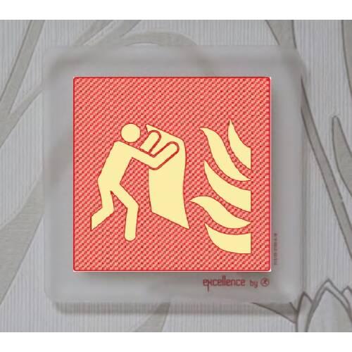 Brandschutzzeichen Löschdecke Exklusiv