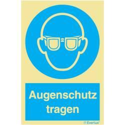 Gebotszeichen Augenschutz tragen SN EN ISO 7010